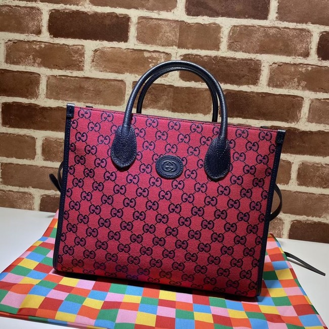 Gucci GG small tote bag 659983 red